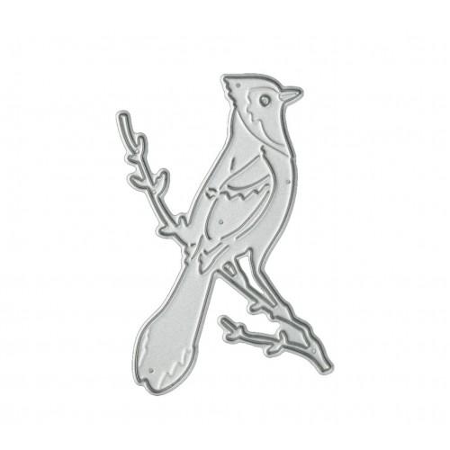 "Нож для вырубки ""Птичка на ветке №2"" фото"
