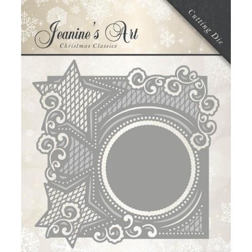 """Нож для вырубки """"Christmas Star Frame"""" от Jeanine's Art"""