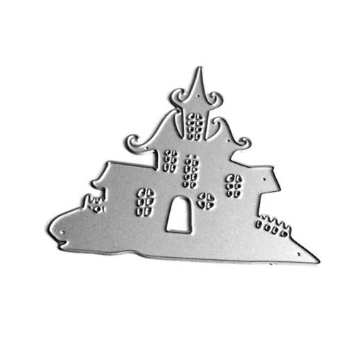 Нож для вырубки Замок Хэллоуин фото