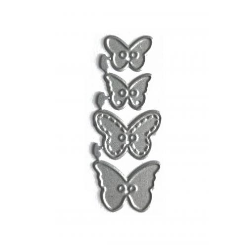 """Набор ножей для вырубки """"Бабочки №4"""""""