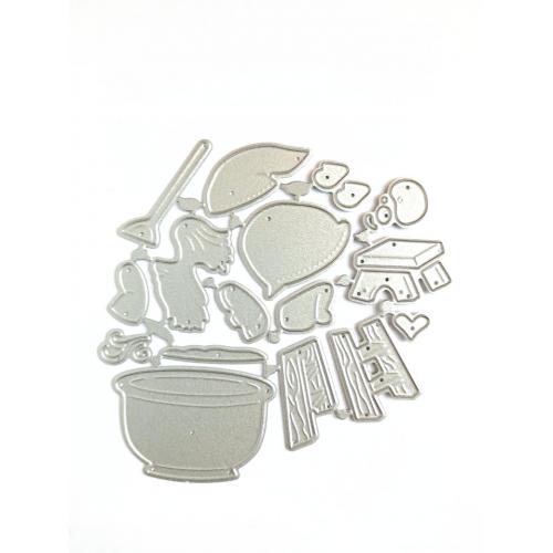 Набор ножей для вырубки Банька, фото
