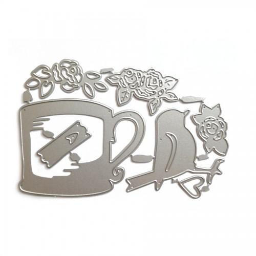 Набор ножей для вырубки Чай на природе, фото