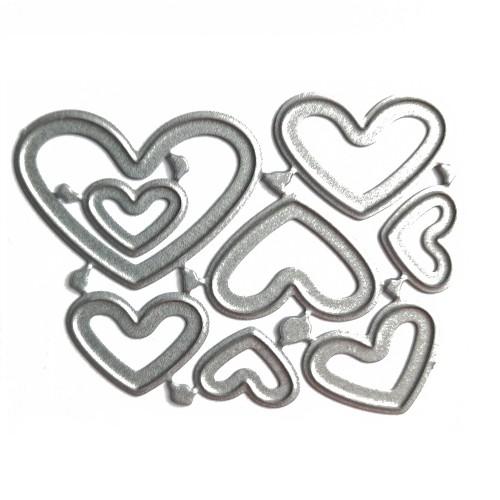 Набор ножей для вырубки Сердца №7, фото