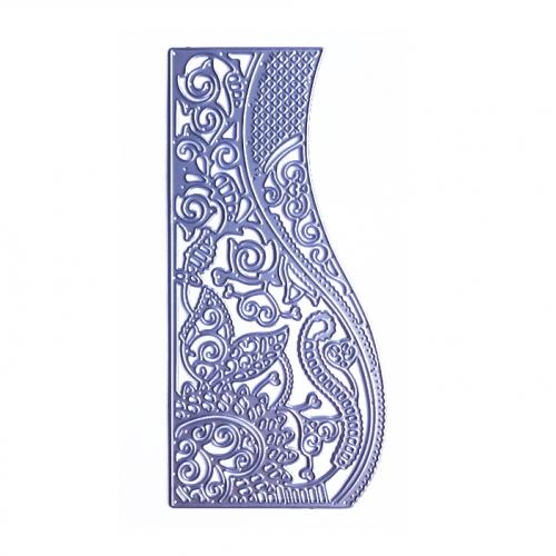 Нож для вырубки Фоновый волна с вензелями