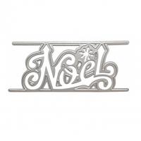 Нож для вырубки Надпись NOEL (фр. Рождество)