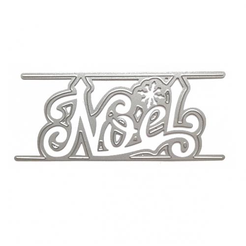 Нож для вырубки Надпись NOEL, фото