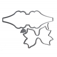 Набор ножей для вырубки Заготовка для бантика №12