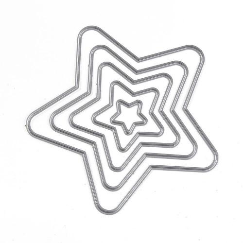 Набор ножей для вырубки Звезды №4, фото