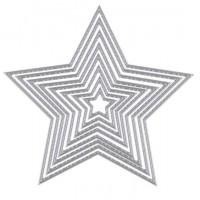 """Набор ножей для вырубки """"Звезды"""", 8 шт"""
