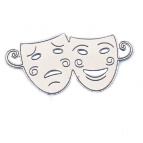 """Нож для вырубки """"Театральные маски"""" фото"""