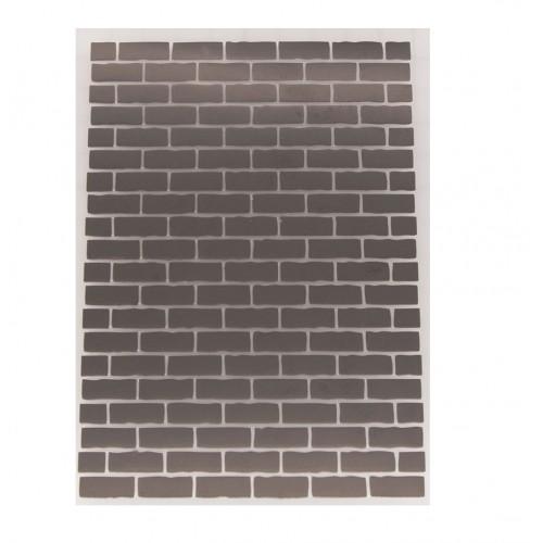 Папка для тиснения Кирпичная стена