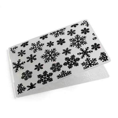 Папка для тиснения Снежинки
