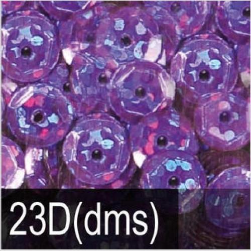 Пайетки с голографическим блеском. Фиолетовый