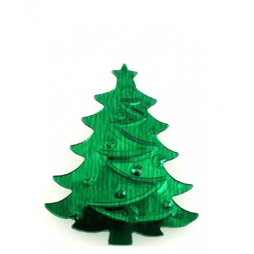 Пайетки елочки Зеленые фото