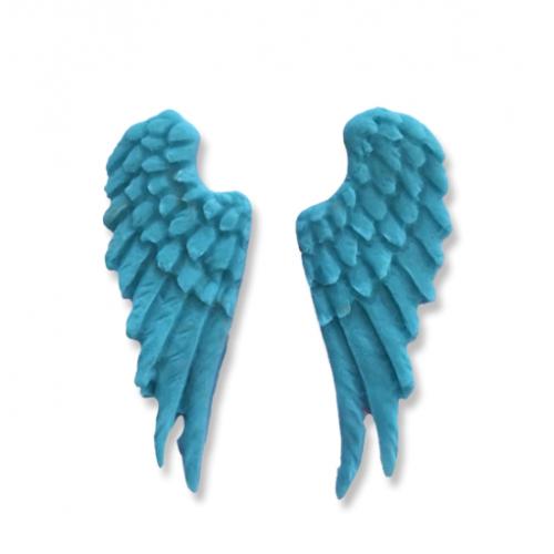 """Набор фигурок из полимерной глины """"Крылья"""" - 2 элемента"""