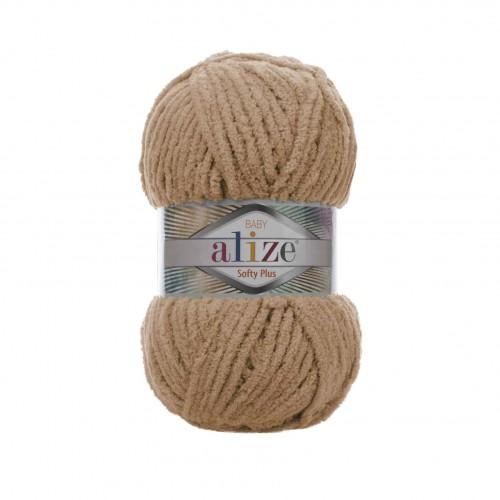 Пряжа Alize Softy Plus 199 карамель, 120 м, 100 г