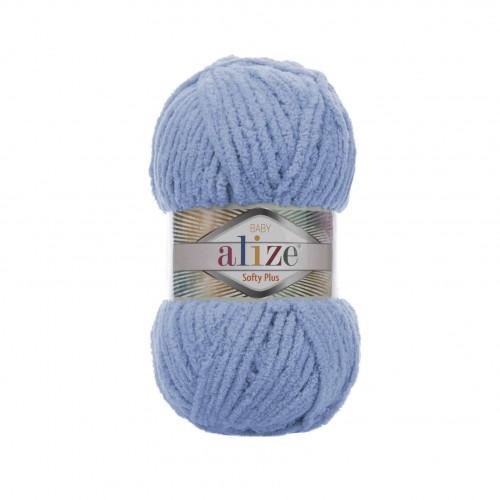 Пряжа Alize Softy Plus 112 голубой, 120 м, 100 г