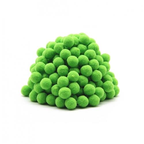 Помпон для декора Светло-зеленый 10 мм, 1шт
