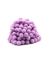 Помпон для декора Фиолетовый 10 мм, 1шт