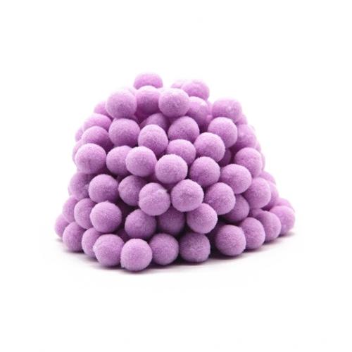 Помпон для декора Фиолетовый 10 мм, фото