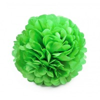 Помпон тишью Зеленый, 25 см