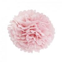 Помпон тишью Розовый, 25 см