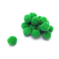 Помпон для декора Зеленый 20 мм, 1шт