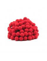 Помпон для декора Красный 10 мм, 1шт