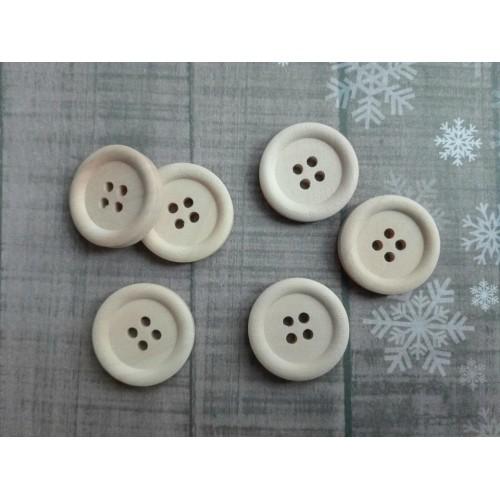 купить пуговицы деревянные 20 мм