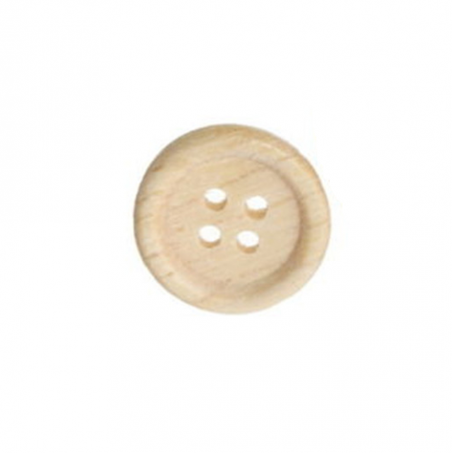 Пуговица деревянная, 20 мм