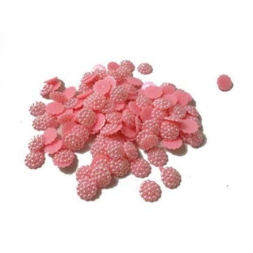 Акриловая серединка Розовая 10 мм фото