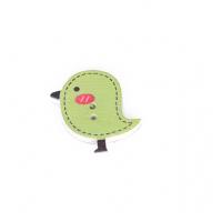 Деревянная пуговица Птенчик бледно-зеленый