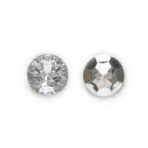 Пуговицы декоративные Алмазы фото