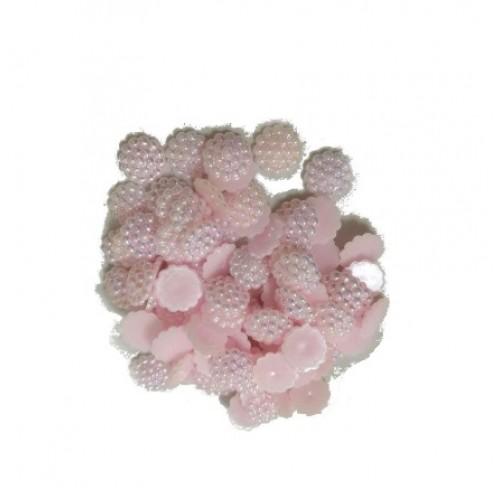 Акриловая серединка Светло-розовая 10 мм фото