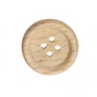 Пуговица деревянная, 25 мм