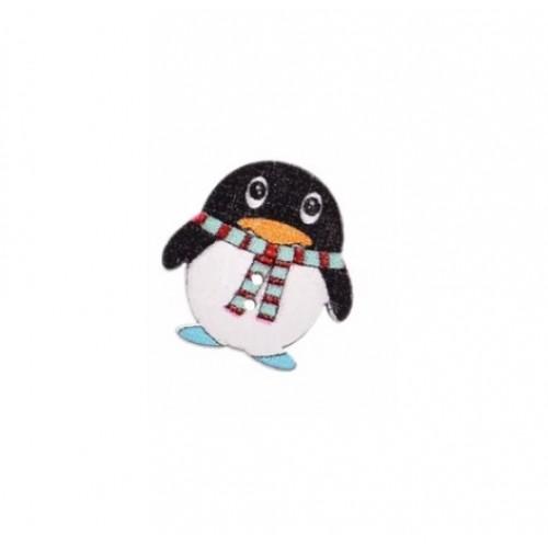 Пуговица деревянная Пингвин №3 фото