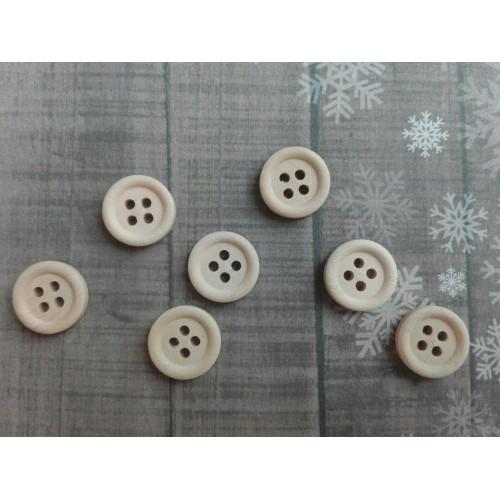 купить пуговицы деревянные 15 мм