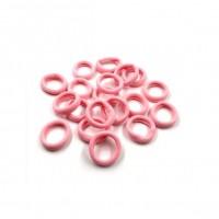 Резинка для волос бесшовная Розовая