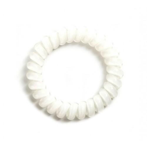 Резинка для волос Invisibobble 5,5 см белая