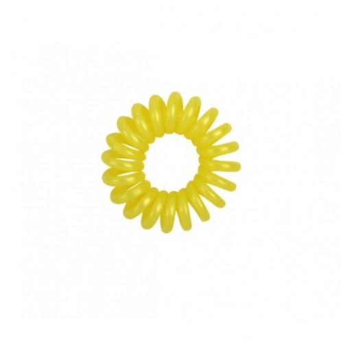 Резинка для волос Invisibobble 4 см желтая