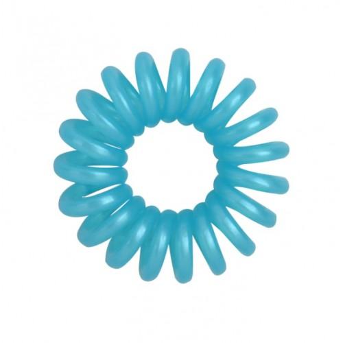 Резинка для волос Invisibobble 4 см голубая