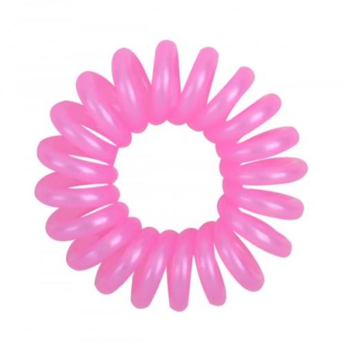 Резинка для волос Invisibobble 4 см бледно-розовая