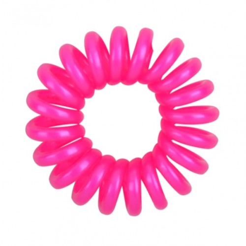 Резинка для волос Invisibobble 4 см ярко-розовая