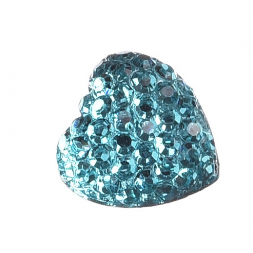 Серединка Сердце в пупырышки Голубое фото