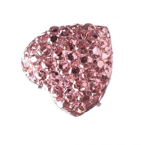 Серединка Сердце в пупырышки Розовое фото