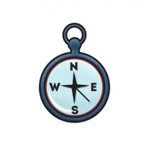 Штамп акриловый Outdoor Adventure – Compass, Imaginisce, 400172