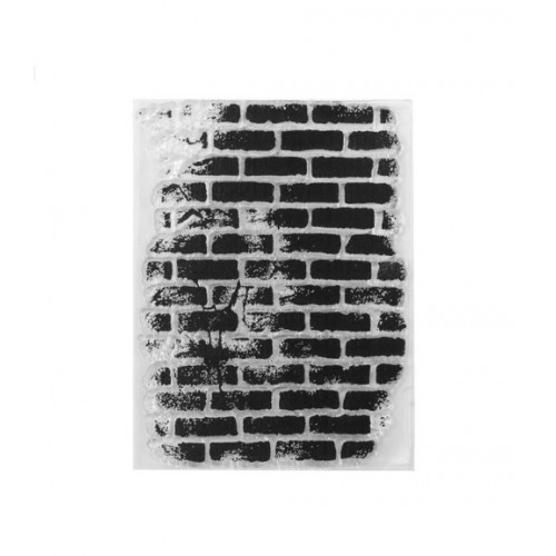 """Штамп """"Кирпичная стена"""" фото"""