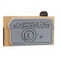"""Штамп резиновый """"Ретро фотокамера"""", 2.9*4 см"""