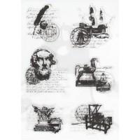 """Набор штампов """"Античность"""", 19.5*14.2 см"""