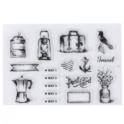 "Набор штампов ""Travel"" фото"